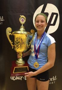 Lindsey Smith Dakota Valley Volleyball MVP National Champion
