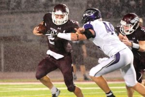 Tyler Kavan of Morningside has career high rushing performance with 123 yards and two touchdowns.