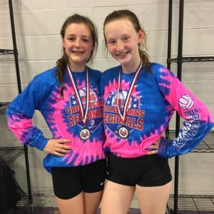 Taylor Spotten and Ellie Wiese.